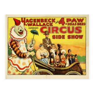 Cirque ancien cartes postales