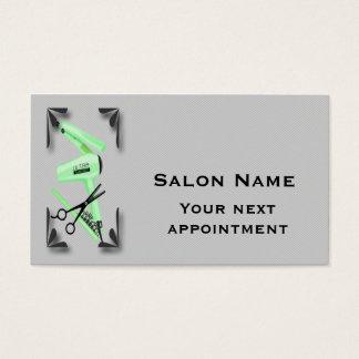 Ciseaux de fer de bordage de sèche-cheveux de cartes de visite