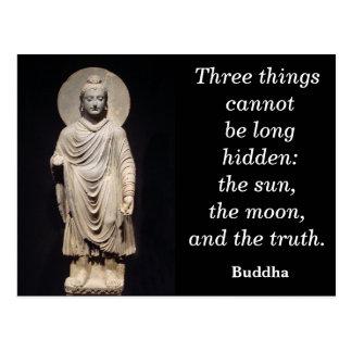 Citation de Bouddha - carte postale
