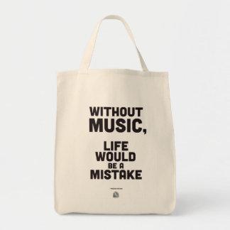 Citation de Friedrich Nietzsche - sac fourre-tout