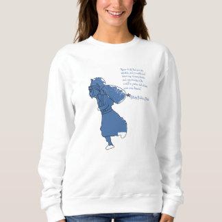 Citation de Hillary du sweatshirt de la femme