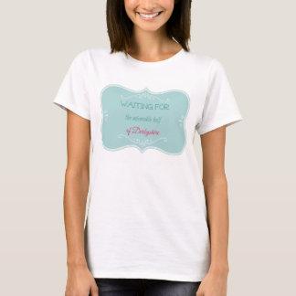 Citation de Jane Austen - attente de la moitié T-shirt