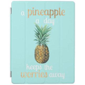 Citation de la vie d'ananas protection iPad