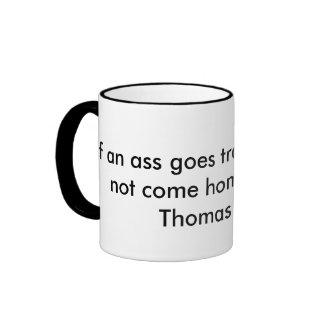Citation de voyage mug ringer