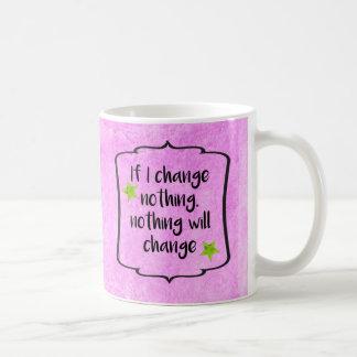 Citation positive de motivation de santé de régime mug
