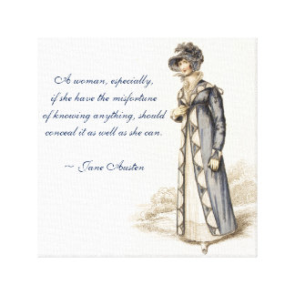 Citations de Jane Austen Toiles