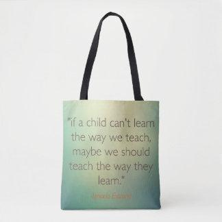 Citations d'éducation de sacs