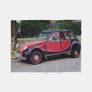 Citroën 2 cv Charleston Fleece Deken