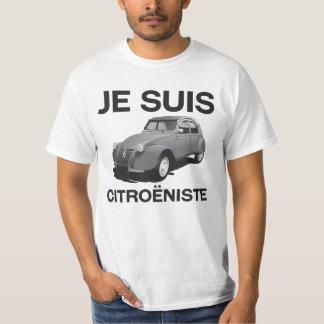 Citroëniste de suis de Je - Citroën gris original T-shirt