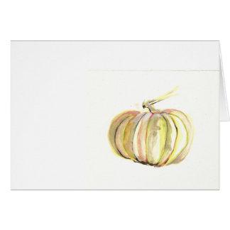 citrouille d'automne carte