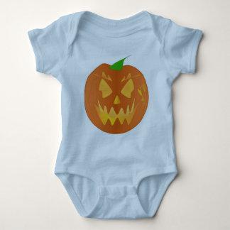 Citrouille de Halloween dans bleu-clair Tee-shirt