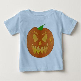 Citrouille de Halloween dans bleu-clair Tee Shirt