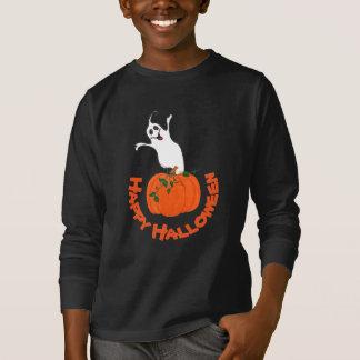 Citrouille et fantôme - T-shirt