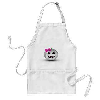 Citrouille Girly Halloween - tablier