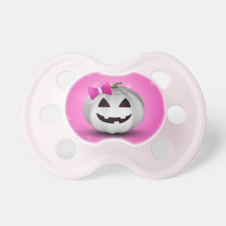 Citrouille Girly Halloween - tétine