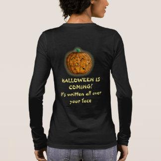 CITROUILLE HALLOWEEN PRINCIPAL par Slipperywindow T-shirt À Manches Longues