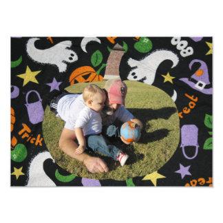 Citrouille heureux de Halloween de photo de
