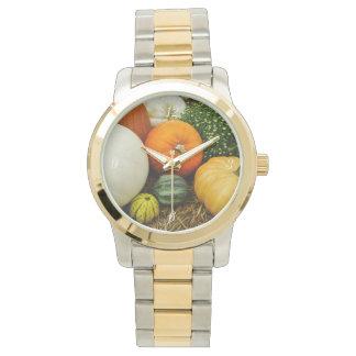 Citrouilles et courges montres bracelet