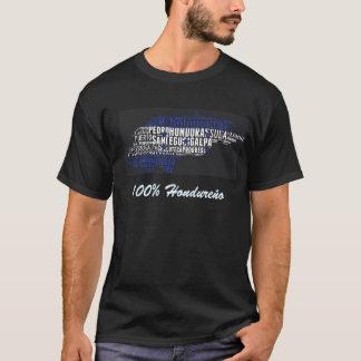 Ciudades du bandera De Honduras y de Camisa T-shirt