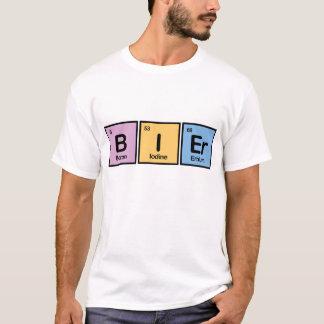 Civière faite d'éléments t-shirt