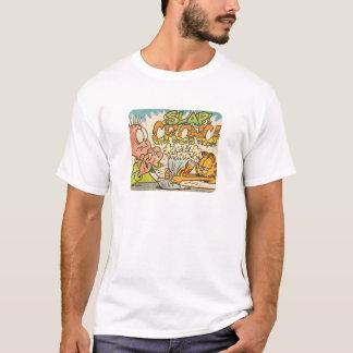 Claque de Garfield, la chemise des hommes T-shirt