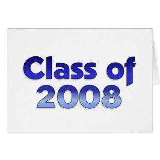 Classe de 2008 - carte bleue