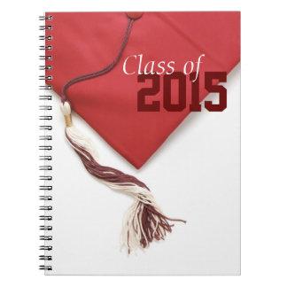 Classe de 2015 casquette et de carnet de gland