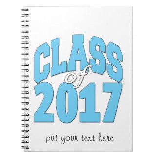 Classe de 2017 carnet à spirale
