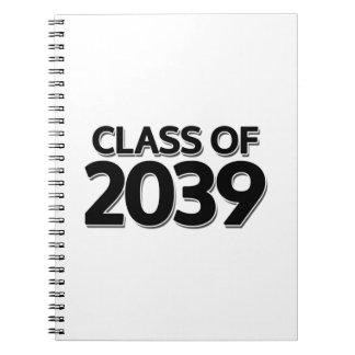 Classe de 2039 carnet