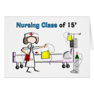 Classe de soins de 2015 carte de vœux