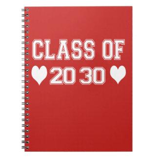 Classe du carnet 2030