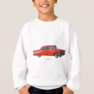 Classic_1957_Chevrolet_Red_texturizer Sweatshirt