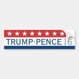 Classique 2016 de penny de Donald Trump Mike Autocollant De Voiture