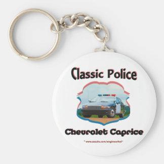 Classique de Chevrolet Caprice de voiture de Porte-clé Rond