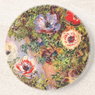Claude Monet Anemonen Dessous De Verres