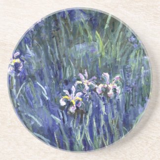 Claude Monet : Iris Dessous De Verres