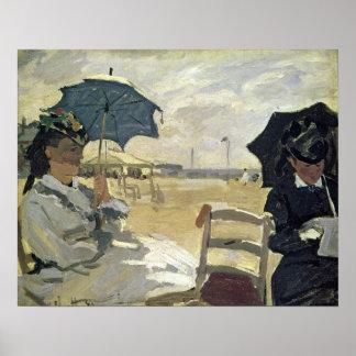 Claude Monet | la plage chez Trouville, 1870