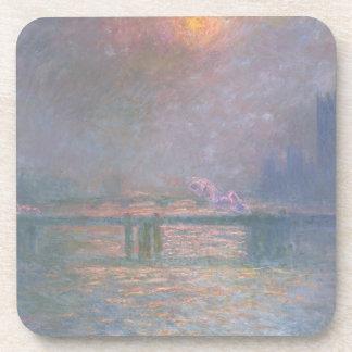 Claude Monet | la Tamise avec la croix de Charing Sous-bocks