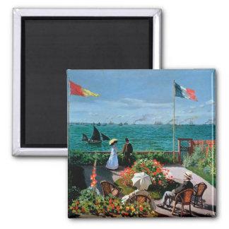 Claude Monet | la terrasse chez Sainte-Adresse, Aimant