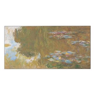 Claude Monet le cru de GalleryHD d'étang de