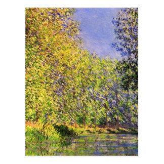 Claude Monet une courbure de l'Epte Carte Postale