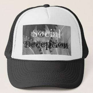 Clé sociale de duperie dans le casquette de