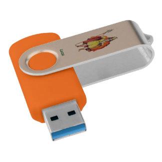Clé USB ~ antique de COSTUME de Britannique de ~