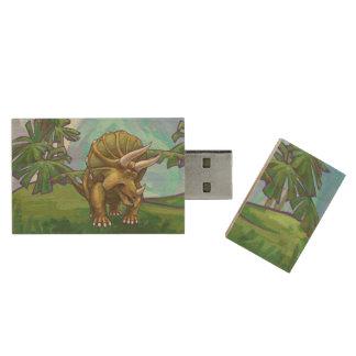 Clé USB Cadeaux et accessoires de Triceratops