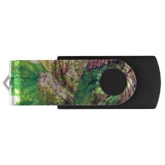 Clé USB Commande colorée d'instantané d'USB de feuille