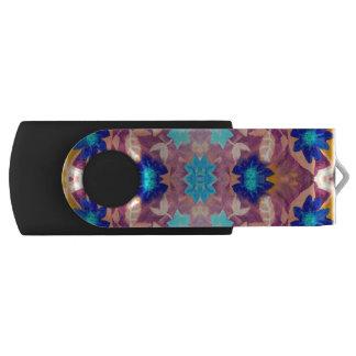 Clé USB Commande colorée d'instantané d'USB de fleurs