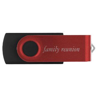 Clé USB Commande d'instantané de réunion de famille