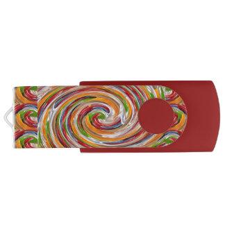 Clé USB Commande d'instantané d'USB de pivot du joyeux