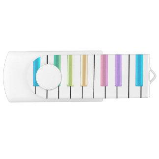 Clé USB Commande en pastel d'instantané d'USB de musique