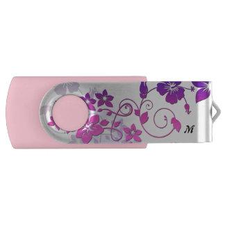 Clé USB Commande florale d'instantané d'USB de pivot de